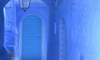 blue-washed walls of Chefchaouen Rif Mountains Northern Morocco