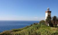 Lighthouse Cap Spartel Tangier Morocco overlooks Mediterranean