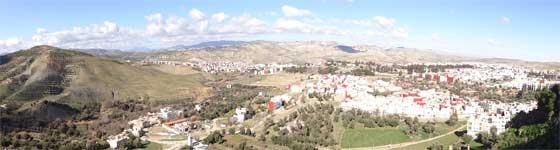 Fes Taza Excursion Private Driver Panoramic View Bab er-Rih medina Taza