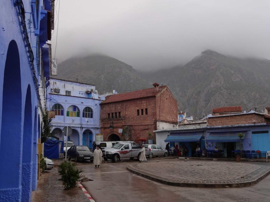 Bab Souk Chefchaouen Rif Mountain Morocco