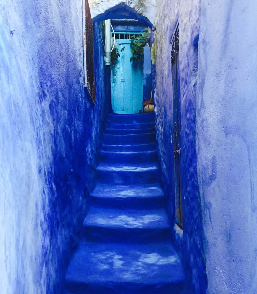 Chefchaouen Blue City Medina Morocco Rif Mountains