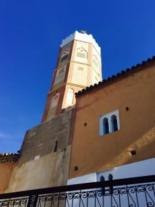 Grand Mosquee Kasbah Chefchaouen Blue City Rif Mountains Morocco