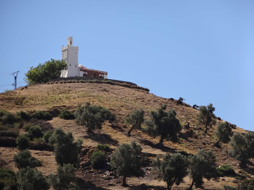 Spanish Mosque Talassemtane National Park Chefchaouen Rif Mountains Morocco